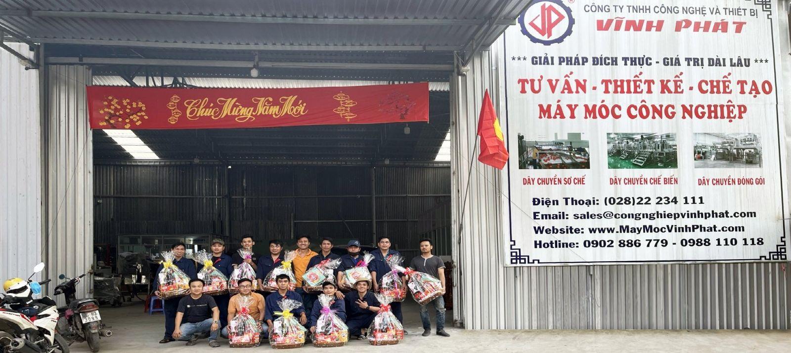 Nhà máy sản xuất Công ty TNHH Công Nghệ Và Thiết Bị Vĩnh Phát