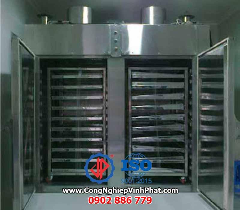 Thiết bị máy sấy tôm khô, cá khô, mực khô, tủ sấy công nghiệp chất lượng cao Vĩnh Phát