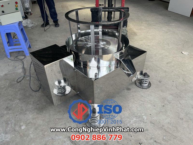 Máy vắt ly tâm rổ rời inox 304, sản phẩm mới của công ty Vĩnh Phát