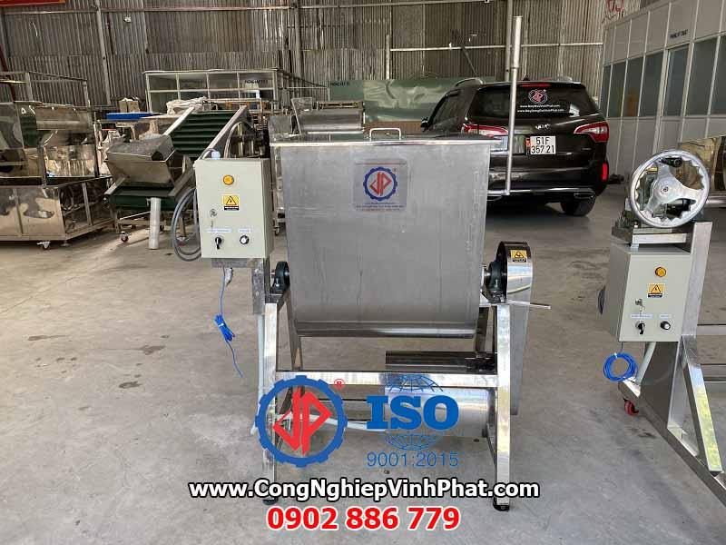 Máy trộn gia vị thực phẩm nằm ngang, máy trộn thịt, máy trộn bột nhão hiệu quả