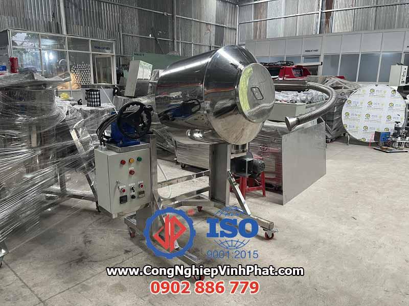 Tổng quan máy trộn có thổi nhiệt cho thực phẩm, máy trộn công nghiệp giá rẻ và hiệu quả