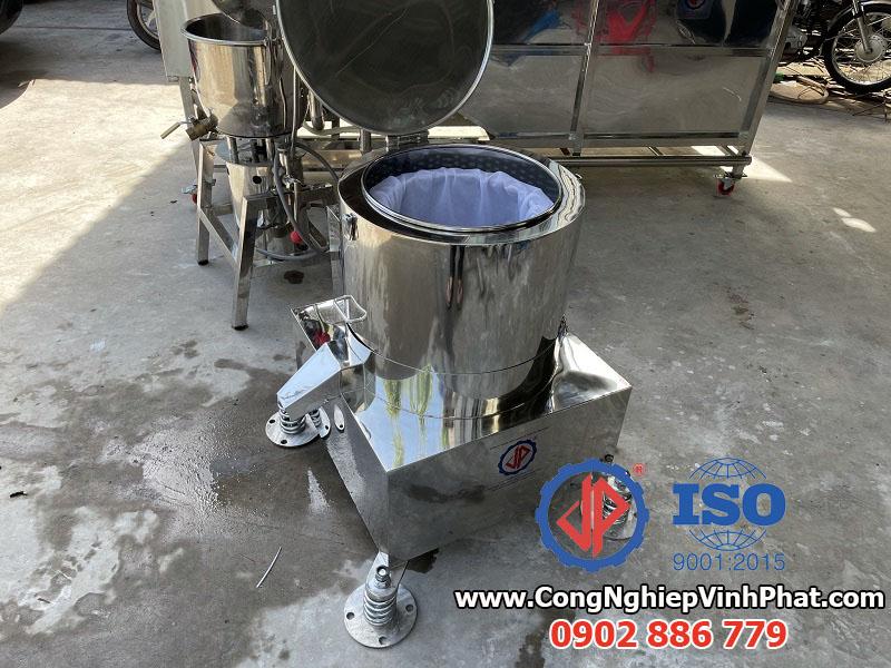 Máy vắt ly tâm 400mm toàn bộ inox 304 Vĩnh Phát sản xuất