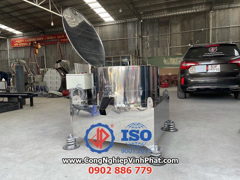 Sản phẩm máy vắt ly tâm công nghiệp kích thước 800mm Vĩnh Phát cung cấp