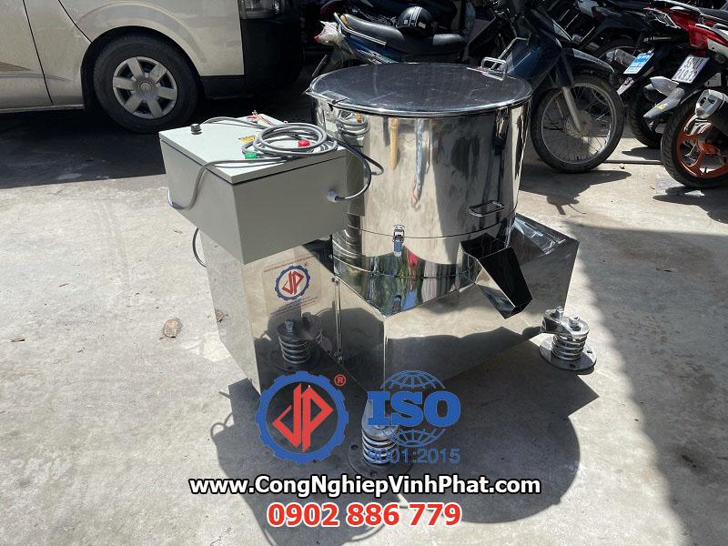 Sản phẩm máy vắt ly tâm inox đường kính lồng quay 500mm Vĩnh Phát chế tạo