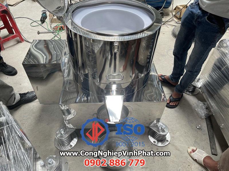 Chạy thử máy vắt ly tâm công nghiệp 500mm Vĩnh Phát tại xưởng