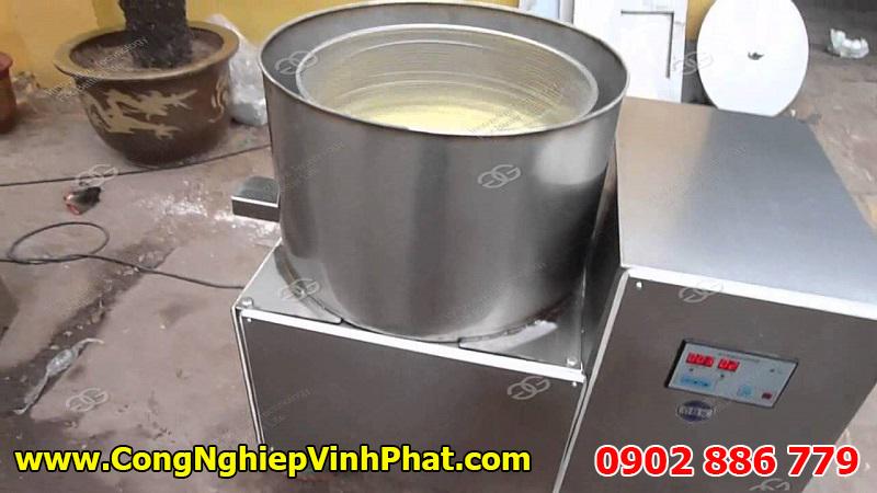 Máy ly tâm tách dầu chiên hiệu quả cho thực phẩm, thu hồi được lượng dầu lớn