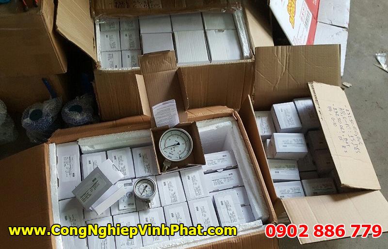 Công ty Vĩnh Phát stock có sẵn nhiều model đồng hồ đo áp suất Wika - Đức