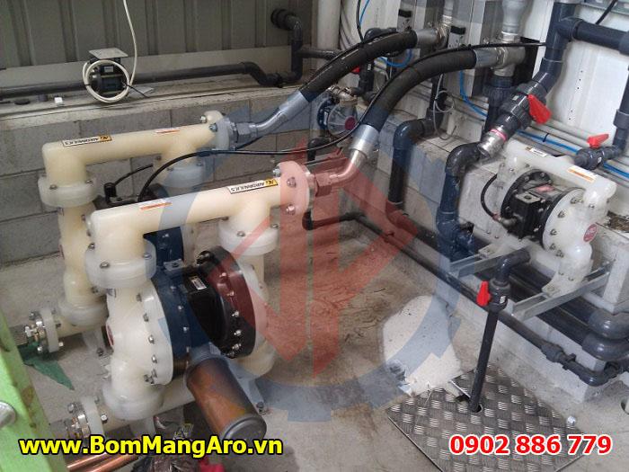 Cung cấp bơm màng ARO cho nhà máy hóa chất