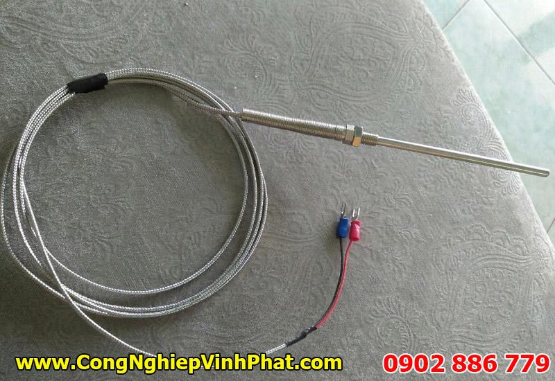 Đầu đó nhiệt độ PT100 2 dây, cảm biến nhiệt độ 2 dây chính hãng giá rẻ