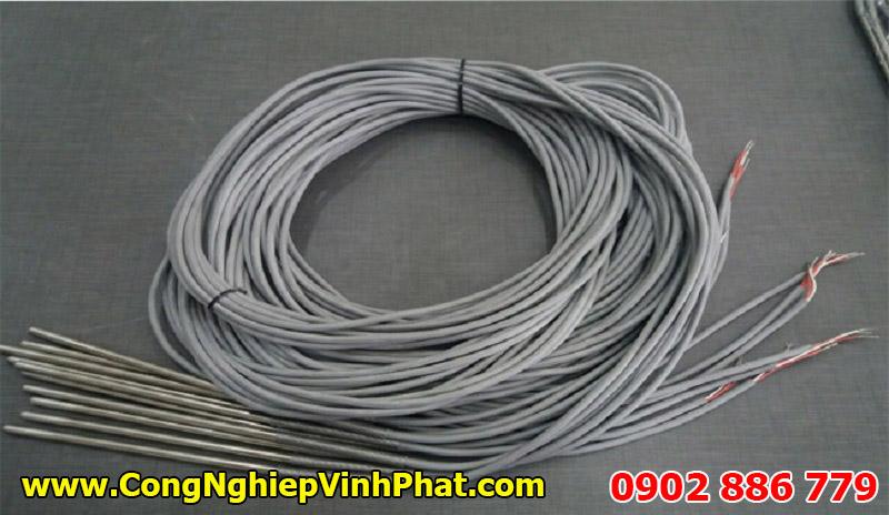 Loại đầu đò nhiệt độ PT100 2 dây không nối ren, cảm biến nhiệt độ Hàn Quốc