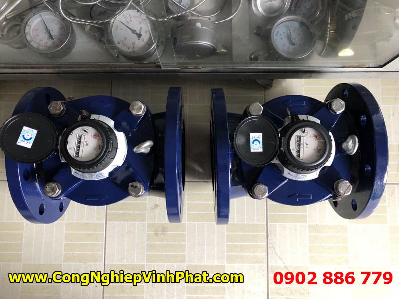Nhiều loại đồng hồ nước Sensus kích thước lớn như DN150, Dn200, DN300, Dn400... đều có sẵn