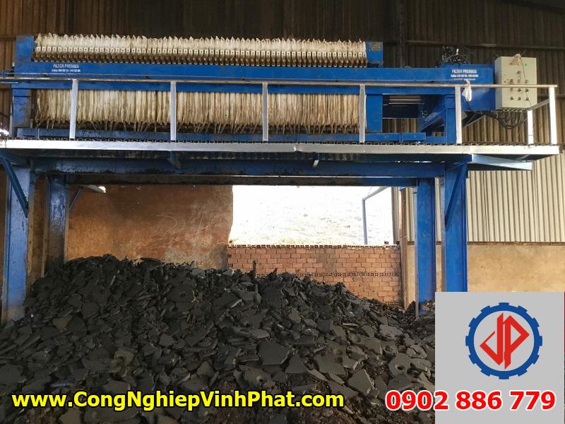 Máy ép bùn khung bản Việt Nam giá rẻ, chất lượng cao của Vĩnh Phát