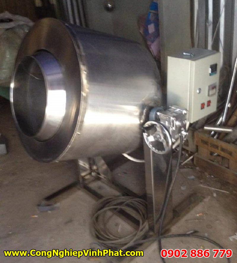 Máy sấy chà bông (ruốc) dạng ru lô vận hành bằng điện