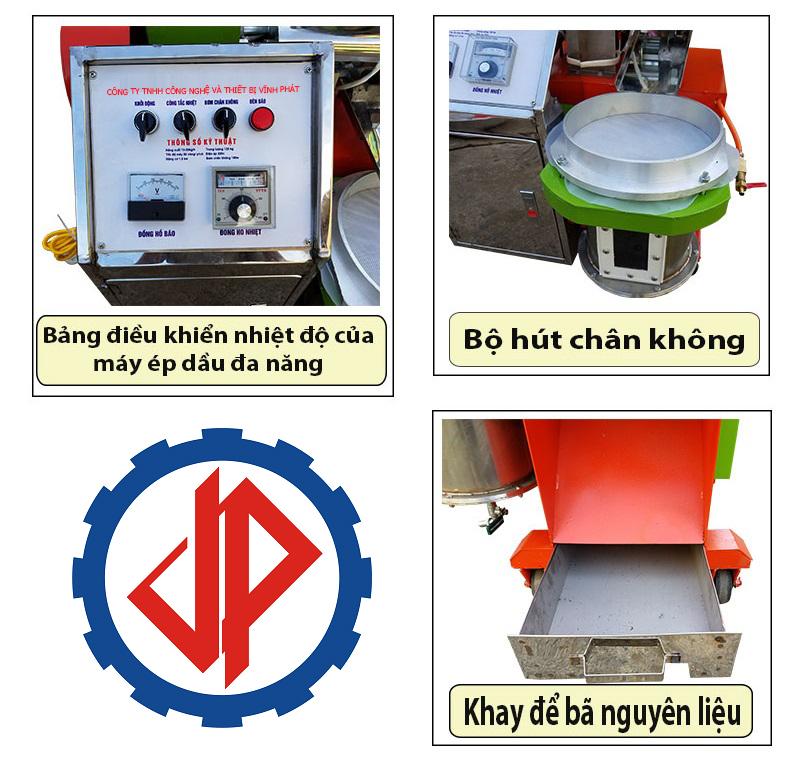 Cấu tạo và nguyên lý hoạt động máy ép dầu lạc đa năng, máy ép dầu điều công nghiệp