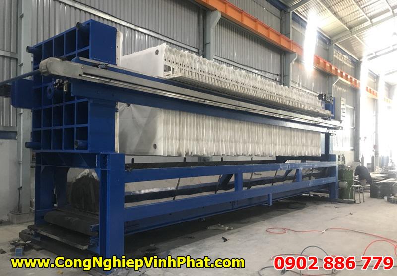 Vĩnh Phát thực hiện sản xuất máy ép bùn khung bản Việt Nam công suất cực lớn